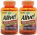 Nature's Way Alive Adult Multi-vitamin, 90 Gummies (2 Pack)