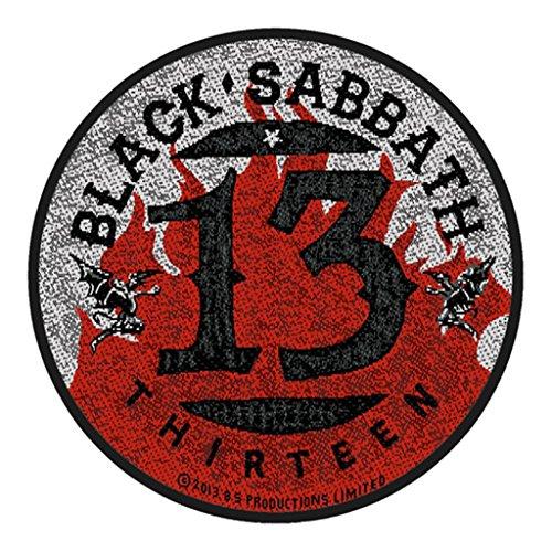 Black Sabbath Aufnäher - Black Sabbath 13 - Black Sabbath Patch - Gewebt & Lizenziert !!