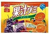 明治製菓 果汁グミアソート 12袋×15個