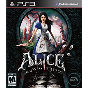 Alice: Madness Returns Video Game for PS3