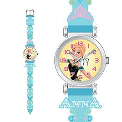 Disney - 887613 - Frozen - Montre Analogique Silicone - Bleu