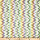 Moda Bump To Baby Chevron Rainbow Fabric