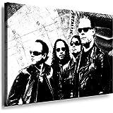 Metallica - James Hetfield Kunstdruck / Bild 100x70cm / Leinwandbild fertig auf Keilrahmen / Leinwandbilder, Wandbilder, Poster, Pop Art Gemälde, Kunst - Deko Bilder