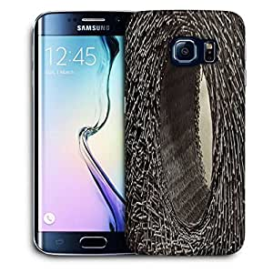 Snoogg Abstract Hole Basket Printed Protective Phone Back Case Cover For Samsung Galaxy S6 EDGE / S IIIIII