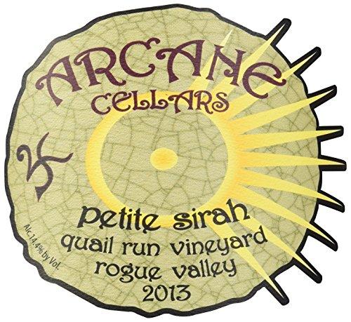 2013 Arcane Cellars Petite Sirah, Rogue Valley 750 Ml