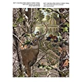 REALTREE DEER AND TURKEY COTTON PANEL-REAL TREE COTTON FABRIC-REALTREE COTTON PANEL w/ DEER AND TURKEY
