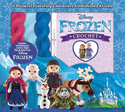 Disney Frozen Crochet Kit and Pattern Book
