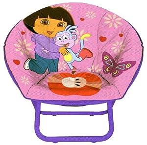 Dora The Explorer Foldable Mini Saucer Chair from Idea Nuova Inc.