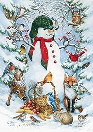 Toland Home Garden Woodland Snowman 1…