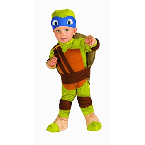 Teenage Mutant Ninja Turtle Leonardo Toddler Costume 2-4t Halloween Costume