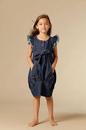 Kid Cute Ture Clothes KidCuteTure Tina Dress in Blue