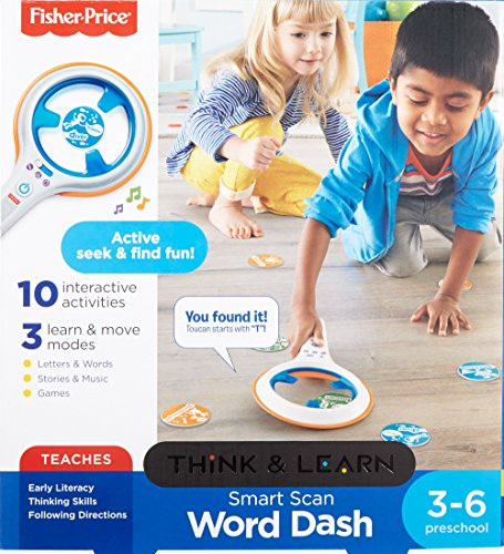 Fisher-Price Smart Scan Word Dash JungleDealsBlog.com