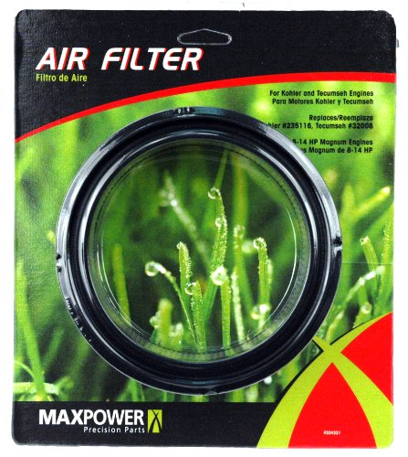 Maxpower 334321 Air Filter For Kohler 8 - 14 Hp Magnum Engines