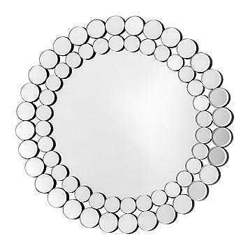 Protege Homeware Circle Pattern Wall Mirror