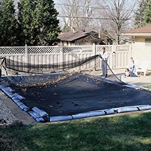 Leaf Net Winter Pool Cover For A 16 39 X 32