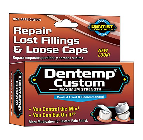 Dentemp Temporary Cavity Filling Mix 1 App 010705400814