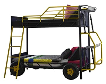 Powell Furniture Dune Buggy Twin Over Twin Bunk Bed