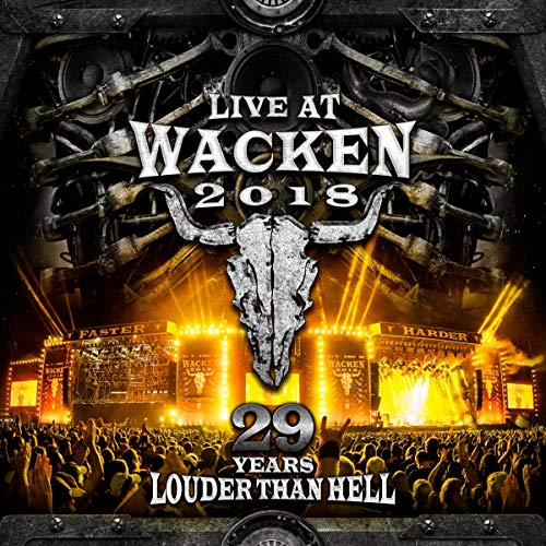 DVD : Live At Wacken 2018: 29 Years Louder Than Hell (4 Discos)