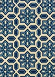 "Granville Rugs Coastal Indoor/Outdoor Area Rug, Blue, 3' 7"" x 5' 6"""