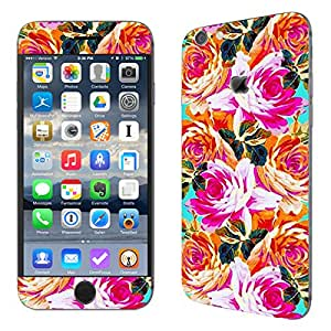 Theskinmantra Flowers Paint Apple Iphone 6s mobile skin