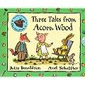 Three Tales From Acorn Wood Boxed set: Hide and Seek Pig, Rabbits Nap and Foxs Socks rrp �14.97
