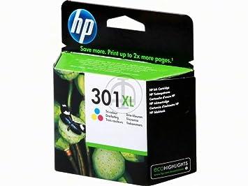 HP - Hewlett Packard Envy 4504 e-All-in-One (301XL / CH 564 EE) - original - Printhead cyan, magenta, yellow - 330 Pages - 8ml