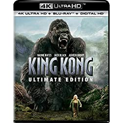 King Kong (Ultimate Edition) [4K Ultra HD + Blu-ray]