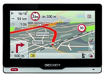 Becker 1501560000 GPS Bluetooth Noir, Argent