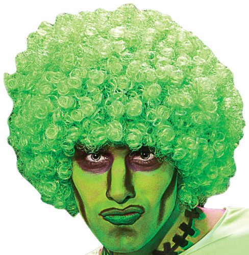 Rubie's Costume Afro Rave Neon Wig
