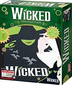 Wicked Key Art Puzzle (Set of 1000 Pieces)