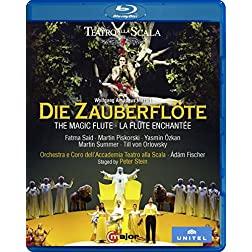 Wolfgang Amadeus Mozart: Die Zauberflöte [Blu-ray]