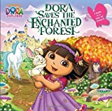 Random House Dora Saves the Enchanted Forest/Dora Saves Crystal Kingdom (Dora the Explorer) (Deluxe Pictureback)