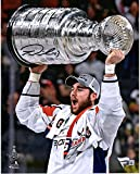 """Tom Wilson Washington Capitals 2018 Stanley Cup Champions Autographed 8"""" x 10"""" Raising Cup Photograph - Fanatics Authentic Certified"""