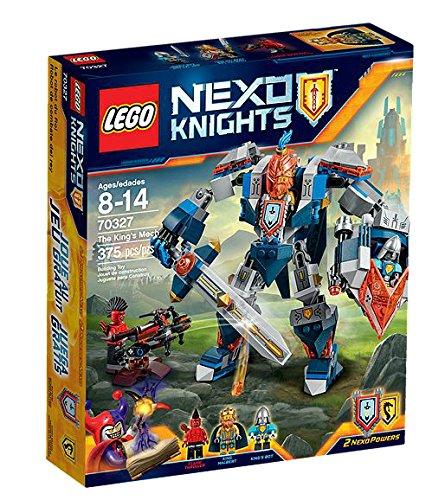 Lego - Nexo Knights 70327 - The King's Mech, Set di 3 figurine mini