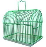 YML 8110 Small Transport Wire Carrier for Small Birds or Small Animals Round Top in Assorted Colors,  8-Inch Length x 6-Inch Depth x 7-Inch Height