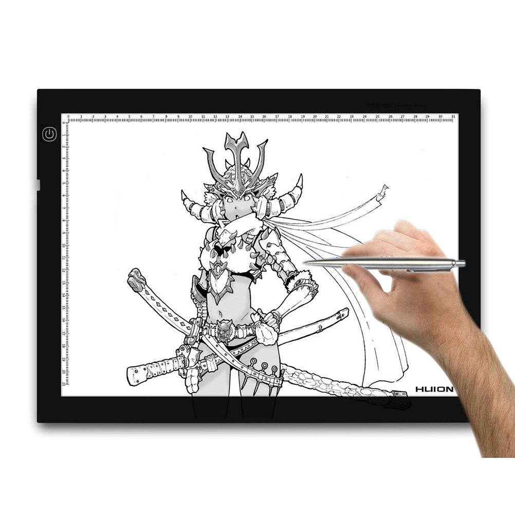 CTC Tech New LED Artcraft Tracing Light Pad Light Box - A4 самокат trolo pixel
