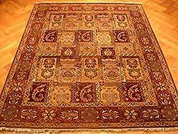 8x10 Antique Bakhtiari Decor Area COLORFUL RUG PERFECT