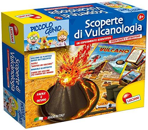 Lisciani 46348 - Piccolo Genio Scoperte di Vulcanologia