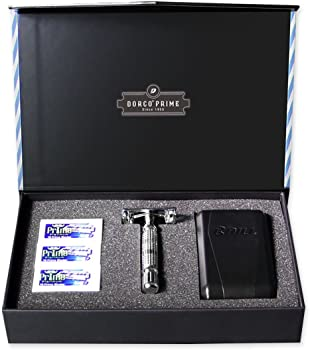 Dorco Prime Starter Set with Butterfly Shaver