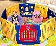 Parque de Bebe XXL 8 Piezas + Colchoneta Ibaby Play Twin / Mejor Parque Infantil 2014 / Multiples Formas de Montaje de Ibaby