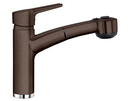 BLANCOMERKUR-S, high pressure tap, SILGRANIT®, coffee, 514930