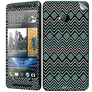 GsmKart HM7 Mobile Skin for HTC One M7 (Black, One M7-478)