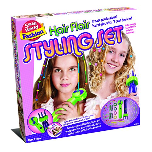 Small World Toys Hair Flair Styling Set front-898164