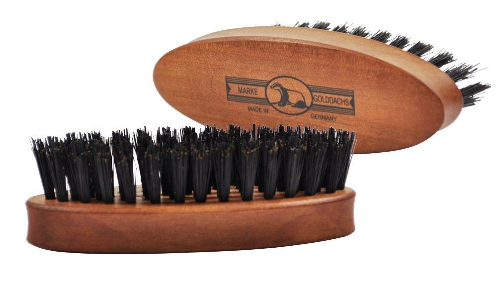 Bartbürste Golddachs für die Bartpflege auch im Set erhältlich!