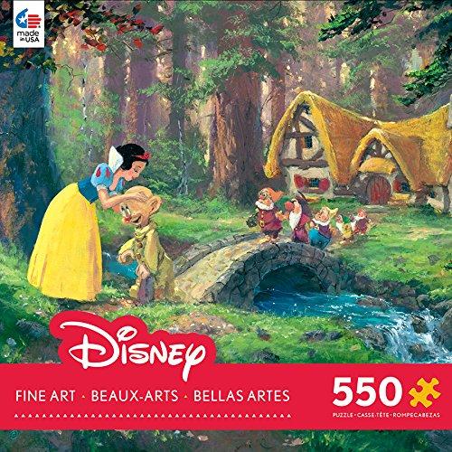 Disney Snow White Fine Art A Sweet Goodbye Puzzle (550 Piece)