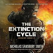 The Extinction Cycle Boxed Set: Extinction Horizon, Extinction Edge, and Extinction Age (The Extinction Cycle, Books 1 - 3) | Nicholas Sansbury Smith