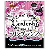 センターイン コンパクトスリム フレグランス スイートフローラルの香り 多い日の夜用 羽つき 30cm 12コ入(unicharm center-in)