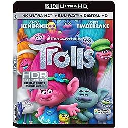 Trolls [4K Ultra HD + Blu-ray]