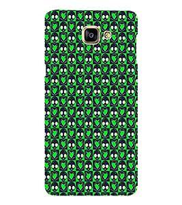 EPICCASE green eyes Mobile Back Case Cover For Samsung Galaxy A9 (Designer Case)