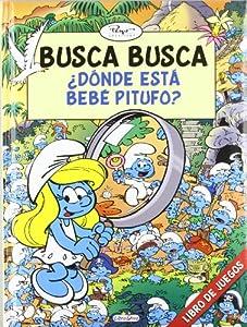 Busca busca los pitufos - ¿donde esta bebe pitufo? Pitufos